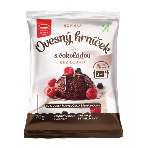Ovesný hrníček s čokoládou 70 g