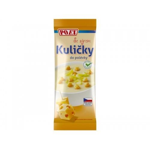 Kuličky do polévky - se sýrem bez lepku