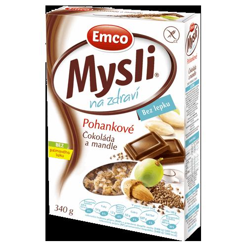 Emco Mysli Pohankové Čokoláda a mandle