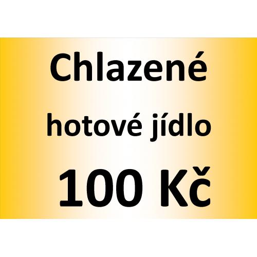 Chlazené hotové jídlo 100 Kč - spotřeba do 10 dnů