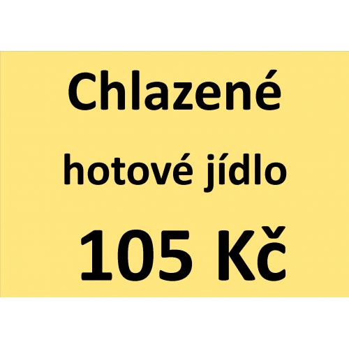 Chlazené hotové jídlo 105 Kč - spotřeba do 10 dnů