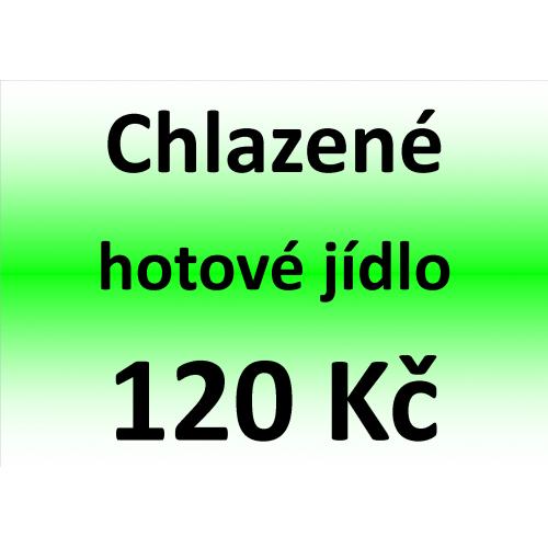 Chlazené hotové jídlo 120 Kč - spotřeba do 10 dnů