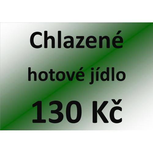 Chlazené hotové jídlo 130 Kč - spotřeba do 10 dnů