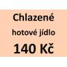 Chlazené hotové jídlo 140 Kč - spotřeba do 10 dnů