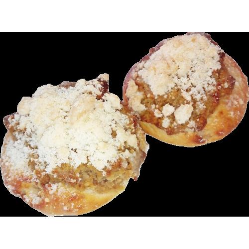 Koláček tlačený ořechový balený, 2 x70 g