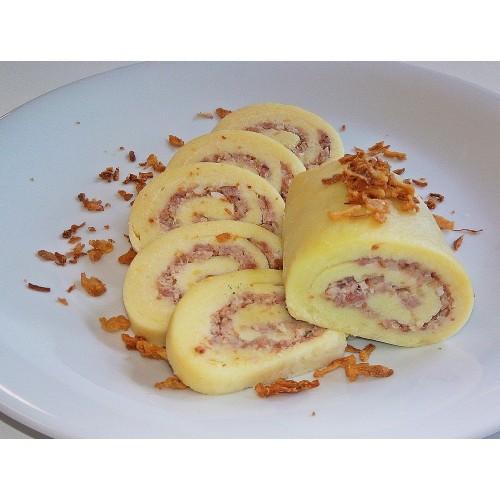 1. Knedlík bramborový plněný uzeným masem, 350 g