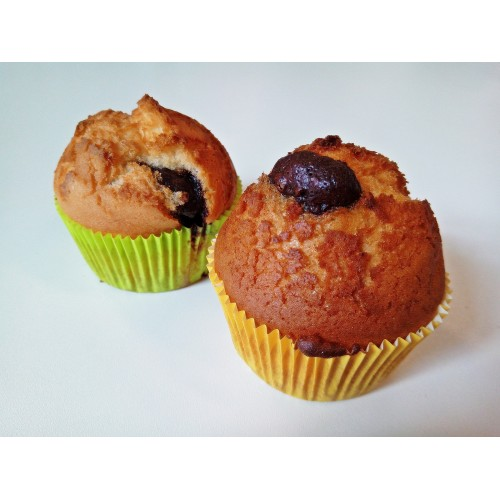 Muffin piškot s nugátem a brusinkami, 85 g | min. trv. 4 dny