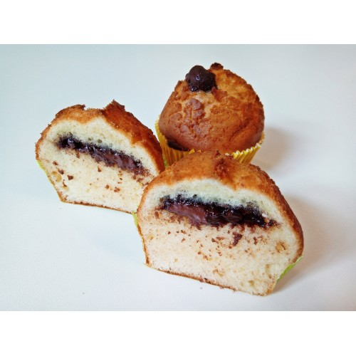 Muffin piškot s nugátem, 85 g