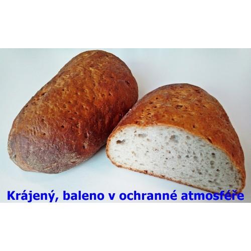 Chléb konzumní krájený balený půlka 250 g | min. trv. 14 dnů